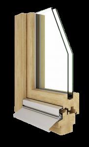 Wooden window IV 68