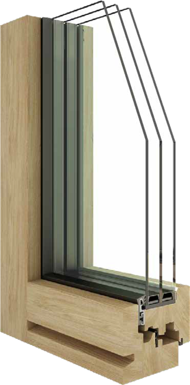 Wooden window zero